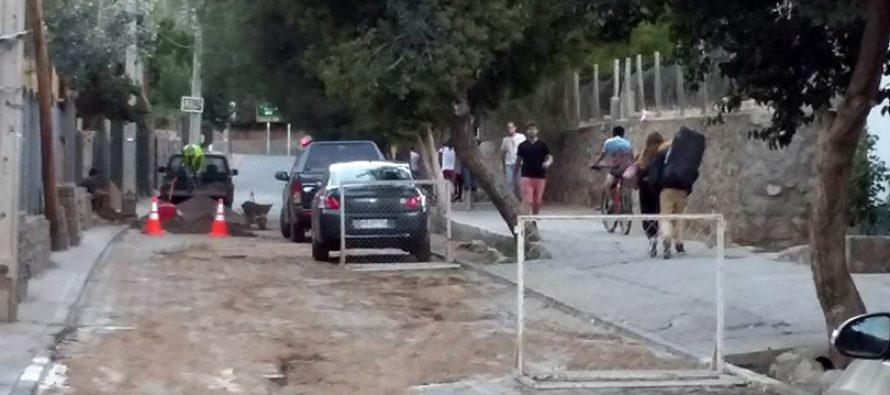 Camión provoca rotura de matriz y corte de agua potable en Pisco Elqui