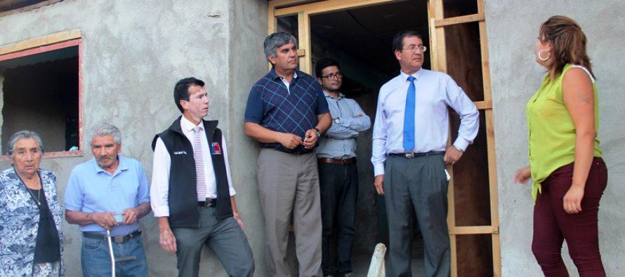 Familias de Vicuña que sufrieron daños por terremoto ya cuentan con arreglos en sus casas