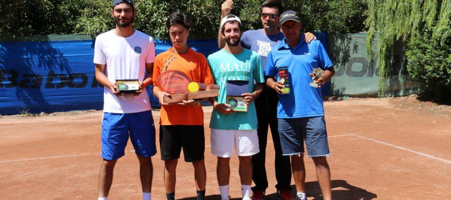 Un joven Coquimbano fue el ganador de la tercera versión de la Copa de Tenis Canihuante