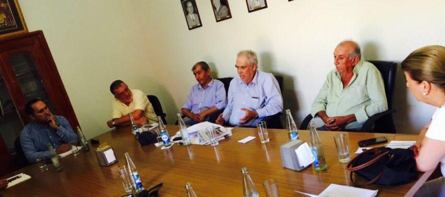 Agricultores de Elqui solicitaron apoyo a SAN y Diputado Gahona para lograr mayor inversión para desarrollo agrícola