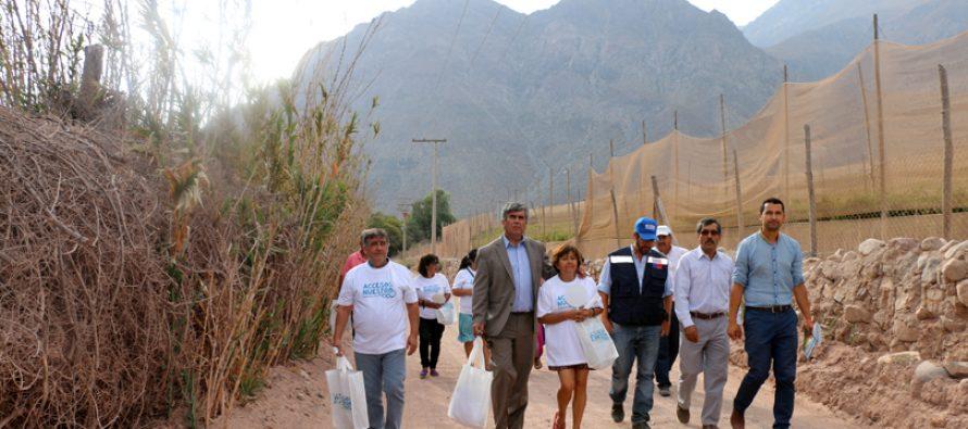 Vecinos y autoridades se organizan para revertir el cierre a libre acceso a los ríos del valle elquino