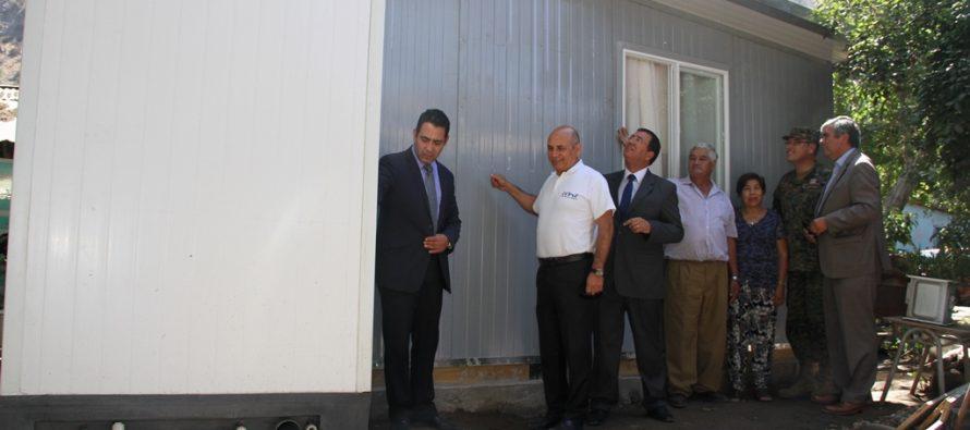 Gobierno ha levantado más de 700 viviendas de emergencia en 5 meses