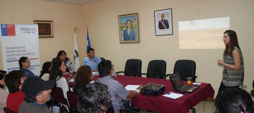 Capacitan a familias de Paihuano en uso eficiente del recurso hídrico