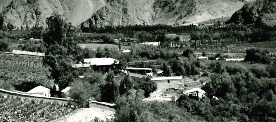 Hacienda Paihuano en 1960