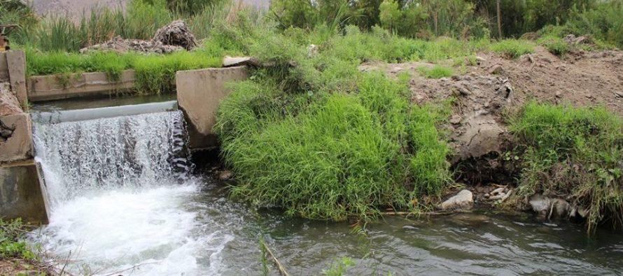Últimos regantes de canales valoran obras de riego realizadas en el Elqui