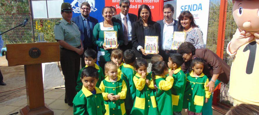 189 jardines infantiles de la región implementan programa para prevenir el consumo de drogas y alcohol