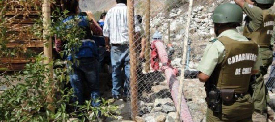 60 días de cárcel para dueño de predio en Quebrada de Paihuano por atacar a funcionarios de la DGA