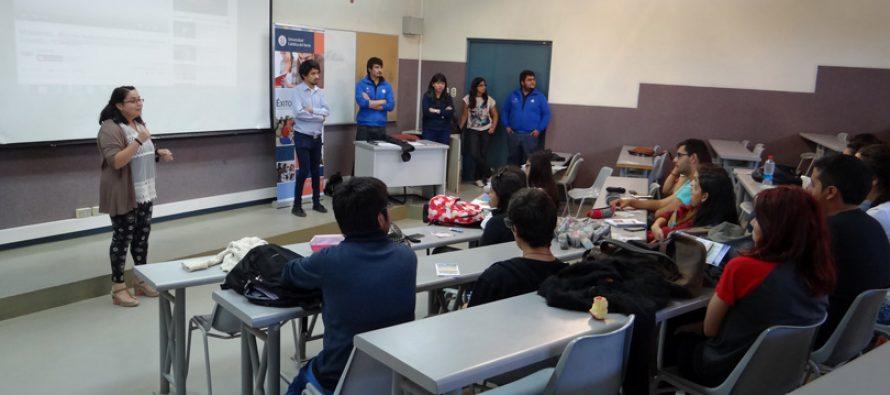 Estudiantes de Vicuña y Paihuano participan en inducción sobre vida universitaria PACE UCN