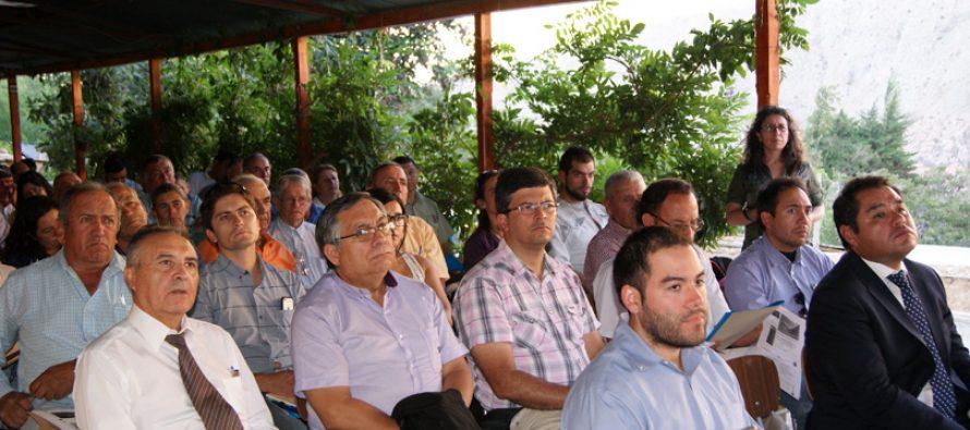 Vecinos de Pisco Elqui conocen avances del Proyecto Embalse Estero Derecho
