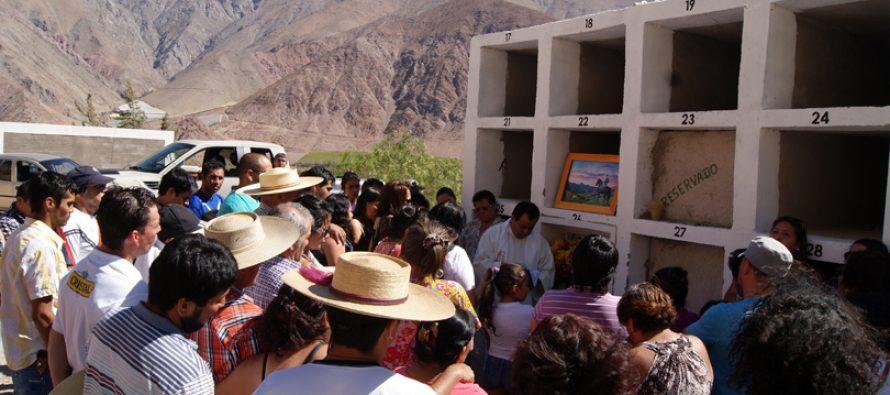 Paihuano recordó el primer mes del  fallecimiento de Felipe Aracena Vargas con responso religioso