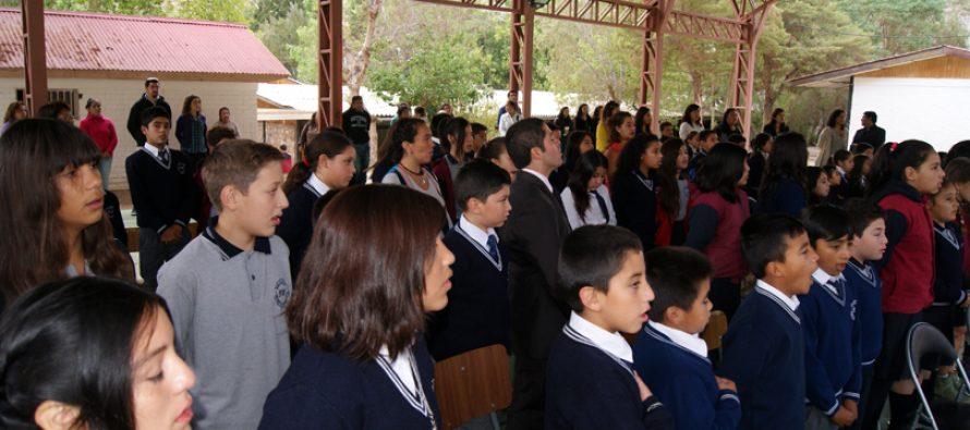 Escuela Gabriela Mistral de Montegrande recibió importante donación de empresarios agrícolas