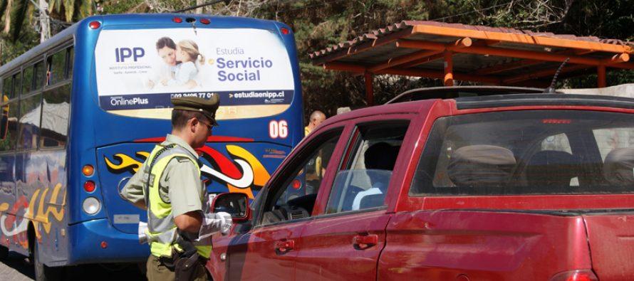Positivo balance realiza Carabineros de Paihuano luego de Semana Santa