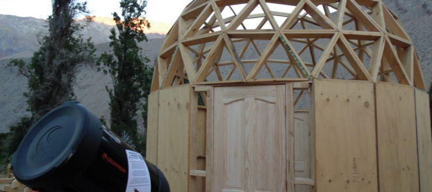 """Pisco Elqui cuenta con un Observatorio Astronómico denominado """"Chakana"""""""