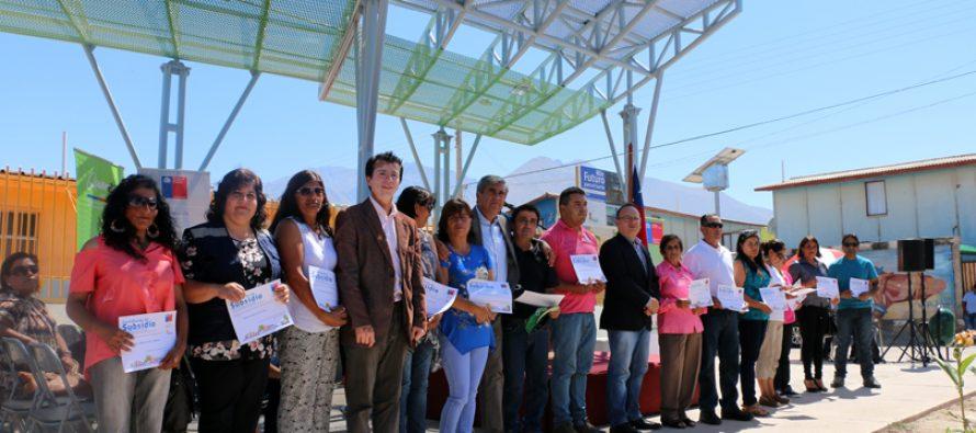 Quiero Mi Barrio en Aguas de Elqui y Río Turbio cumple 1 año y medio con importantes avances