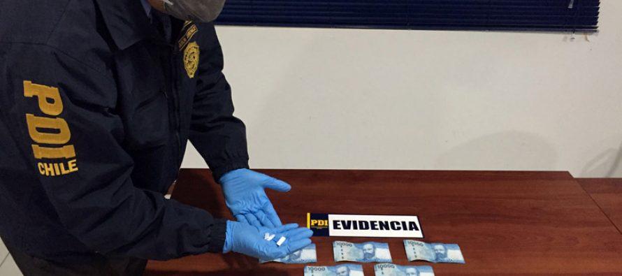 PDI detiene a cinco personas por tráfico de drogas al interior de una hostal en Vicuña