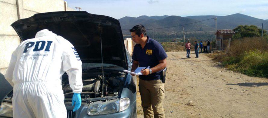 Investigan robo de automóvil a comerciante de Vicuña el cual fue encontrado en Altovalsol