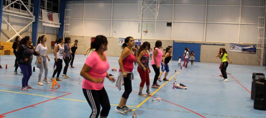 Anuncian continuación del programa de Zumba para las deportistas de Vicuña