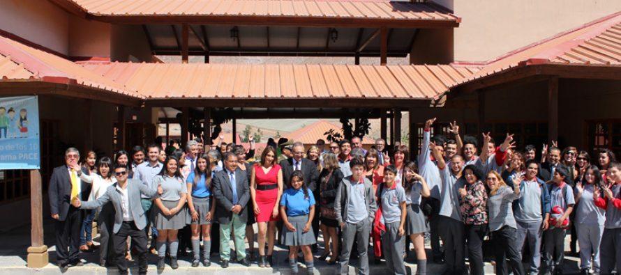 Paihuano inaugura año escolar destacando los logros y puesta en marcha de la Reforma Educacional