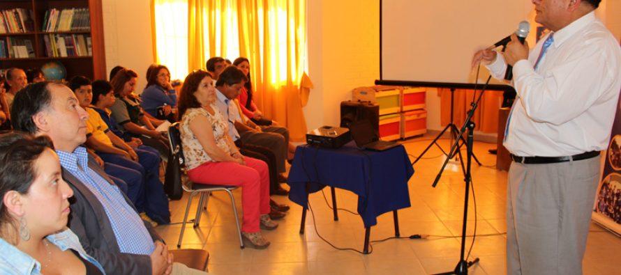 Realizan diálogo ciudadano participativo en la escuela Neftalí Reyes de El Tambo