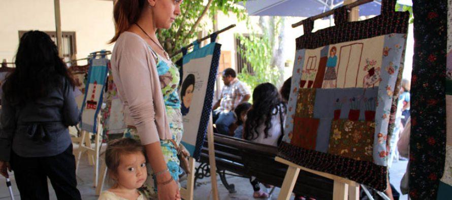 Presentan exposición de cuadros creados por personas en situación de discapacidad en Vicuña