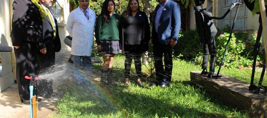 Reutilizan antiguo pozo para reciclar aguas en escuela Lucila Godoy Alcayaga de Vicuña