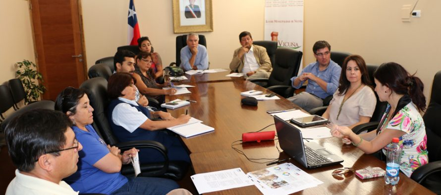 """Continúa el proceso de concreción del """"Barrio Comercial"""" para Vicuña a través de SERCOTEC"""