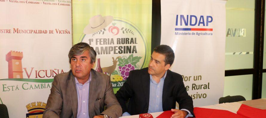 Feria Rural Campesina tendrá lugar este fin de semana en Parque Los Pimientos de Vicuña