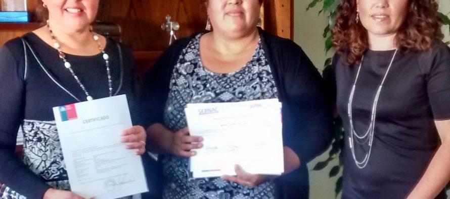 """SERNAC: Destacan a profesora de Vicuña por ser la mejor en el """"Curso de Perfeccionamiento Docente"""""""
