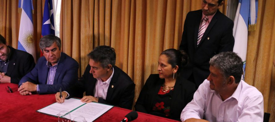 Vicuña estrecha lazos con los departamentos de San Juan, Jáchal, Iglesia y Santa Lucia