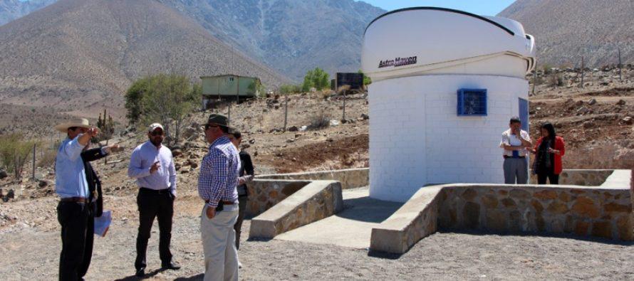 Vicuña es uno de los cuatro lugares en el mundo en contar con el telescopio robótico Falcon