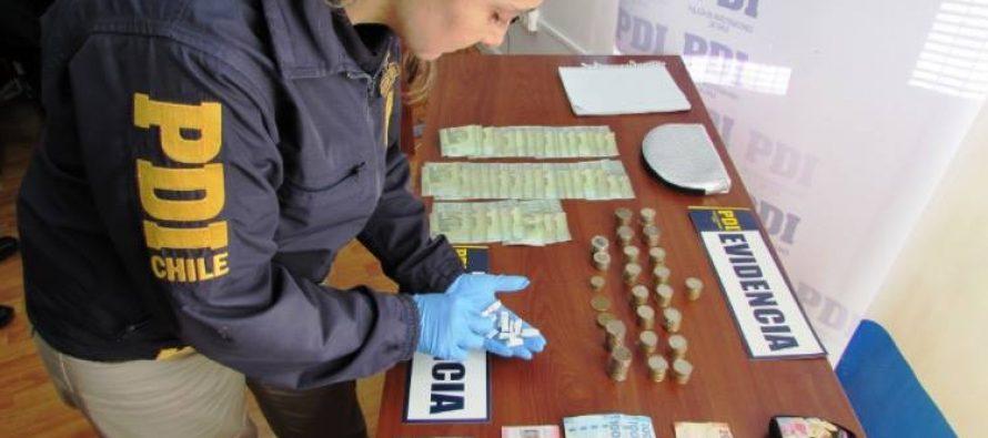PDI detiene a pareja dedicada al microtráfico de drogas en Vicuña