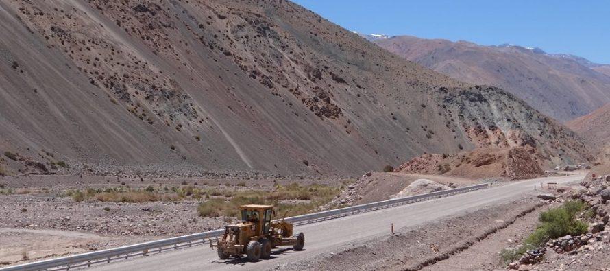 Destacan inversión de Chile y Argentina para mejorar rutas que conducen a la boca del túnel de Agua Negra