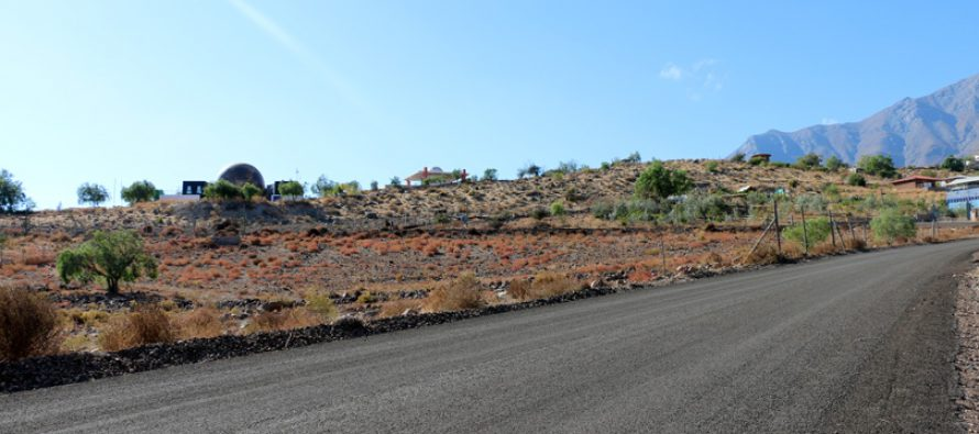 Pavimentación camino Observatorio Mamalluca