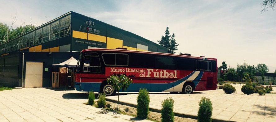 Museo del Fútbol llegará esta semana a las comunas de Vicuña y Paihuano
