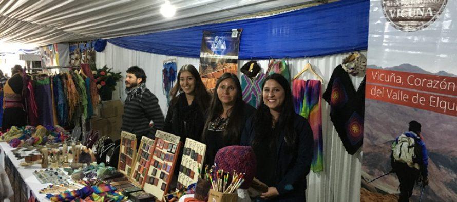 Artesanos del Valle del Elqui dieron a conocer sus productos en la Fiesta de la Vendimia de Chillán