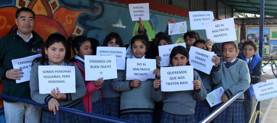 OPD de Vicuña hacen llamado para luchar contra el maltrato infantil