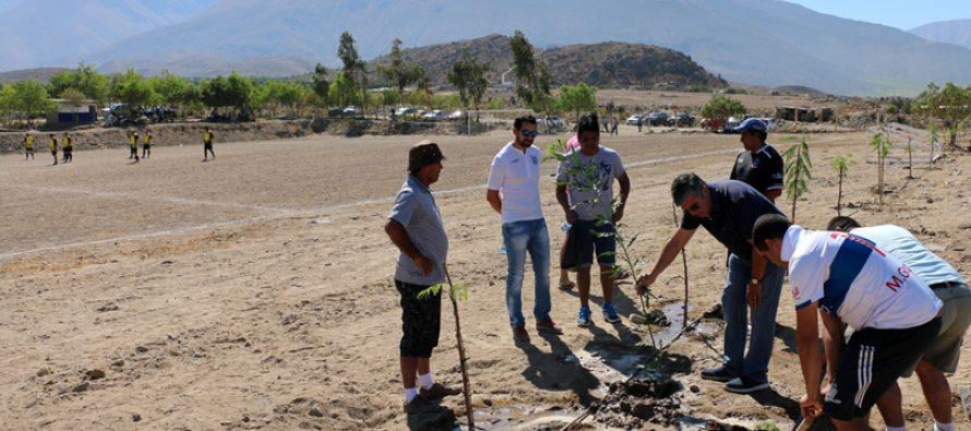 Bellavista de Calingasta presenta importantes avances para su club deportivo