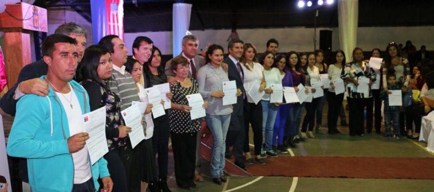 158 familias formarán parte de un nuevo loteo habitacional en el sector de La Viñita en Vicuña