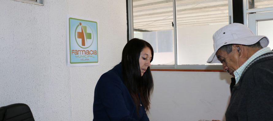 Comienza la inscripción de los usuarios de la Farmacia Popular en Vicuña
