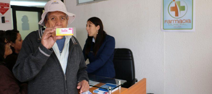 Vicuña comenzó con el proceso de inscripción para su Farmacia Popular
