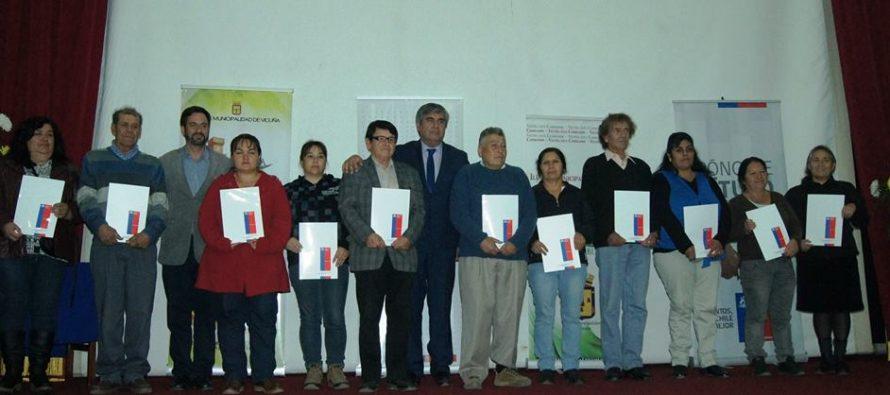 """Vicuña celebra a 60 nuevos propietarios de un """"Pedacito de Chile"""""""