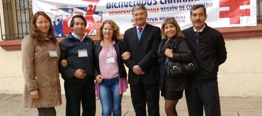 Democracia Cristiana presenta sus candidatos a concejales para las municipales 2016 en Vicuña
