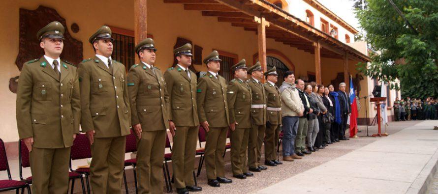Con acto oficial Paihuano celebró a Carabineros de Chile