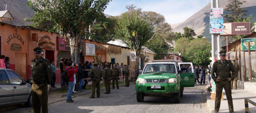 En Paihuano reconstituyen escenas del presunto homicidio de Felipe Aracena