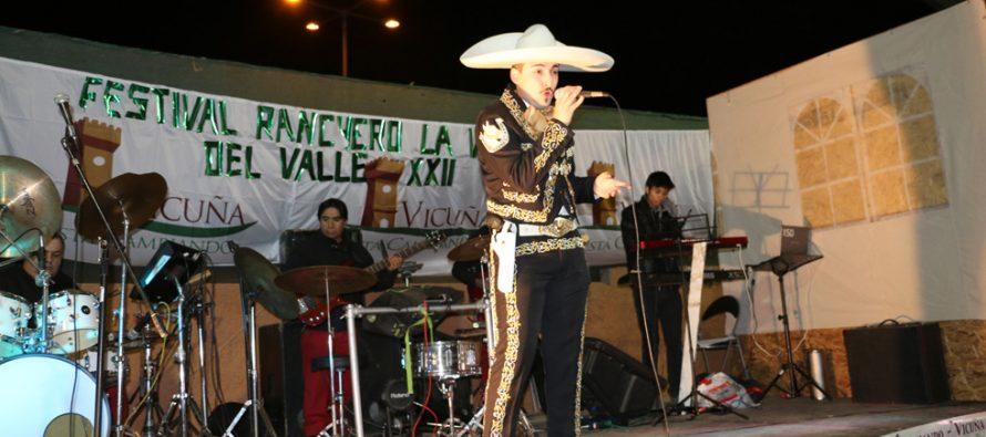 """A Viña del Mar se fue el primer lugar del XXII Festival Ranchero de El Arrayán """"La Voz del Valle"""""""