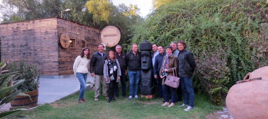 Delegación francesa del grupo cooperativo Vinadeis realizo visita a Capel