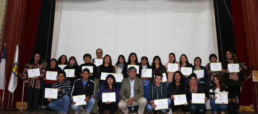 Un total de 130 jóvenes fueron beneficiados con las Becas de Educación Superior de Vicuña
