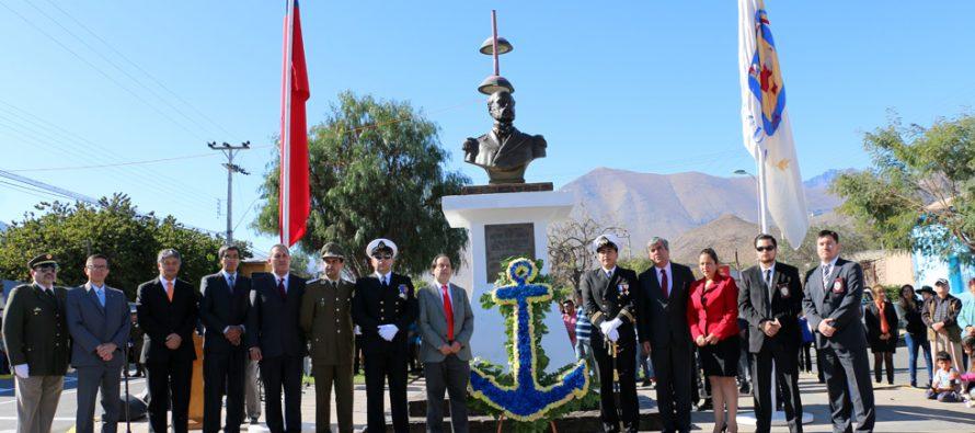 Vicuña conmemoró las Glorias Navales con alta participación de la ciudadanía