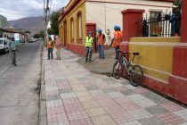 Autoridades analizan en terreno proyectos en construcción con recursos SUBDERE