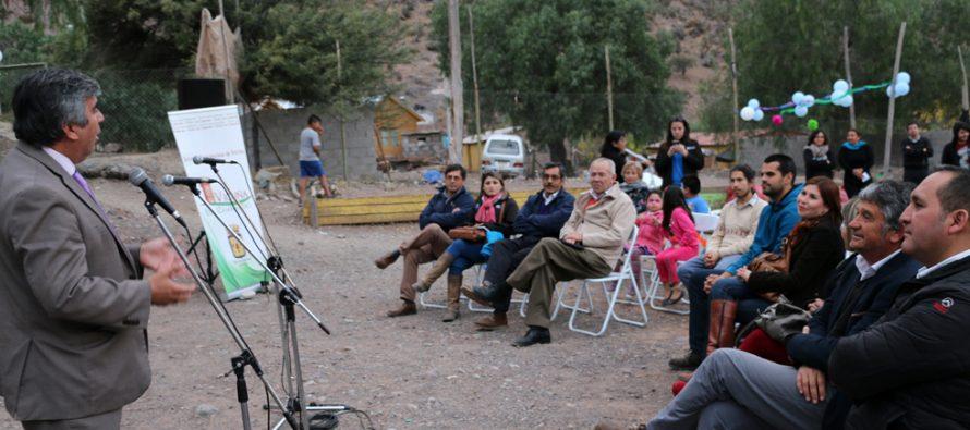 En la localidad de Andacollito se realiza hito inicial del Servicio País a nivel regional